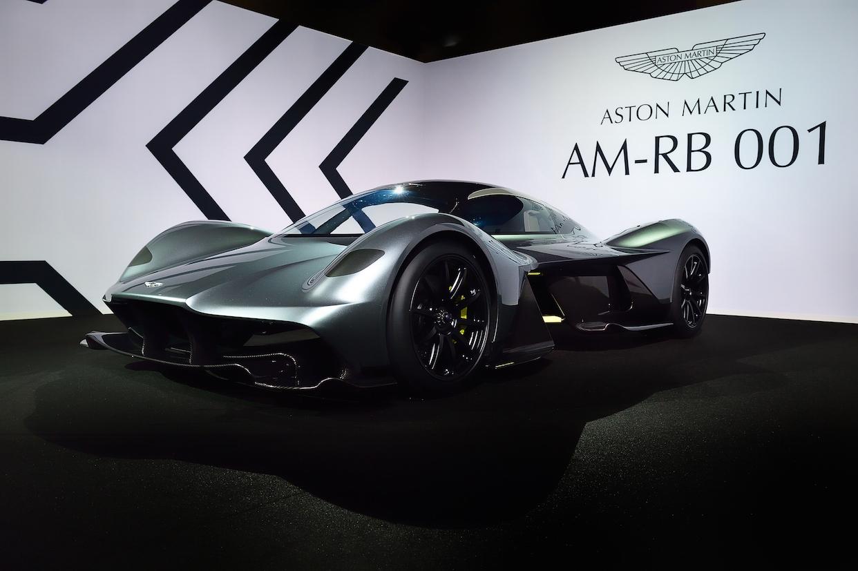 Aston Martin Debuts AM-RB 001 Hypercar at Abu Dhabi Grand Prix