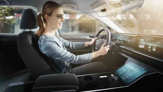 Bosch Makes Sun Visor that can Block Sun Automatically