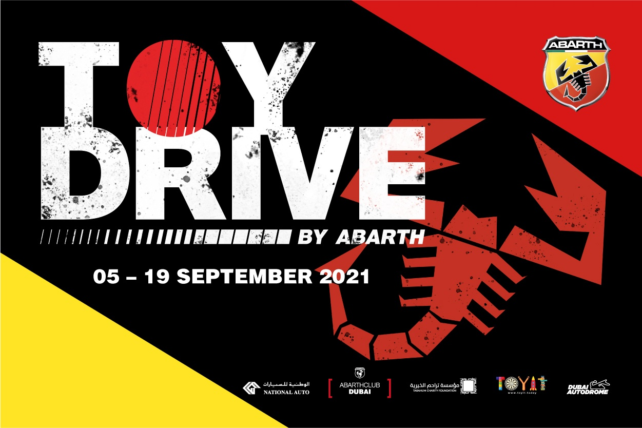 Abarth Middle East Launches Toy Donation Drive