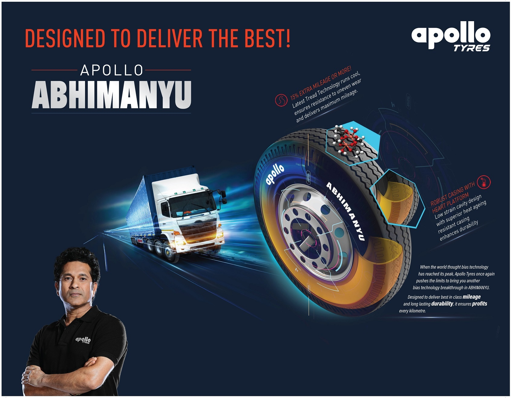 Apollo Abhimanyu, a breakthrough product in cross-ply technology