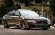Aerotechnik puts Audi luxury sedan on Cor.Speed 22-inch wheels