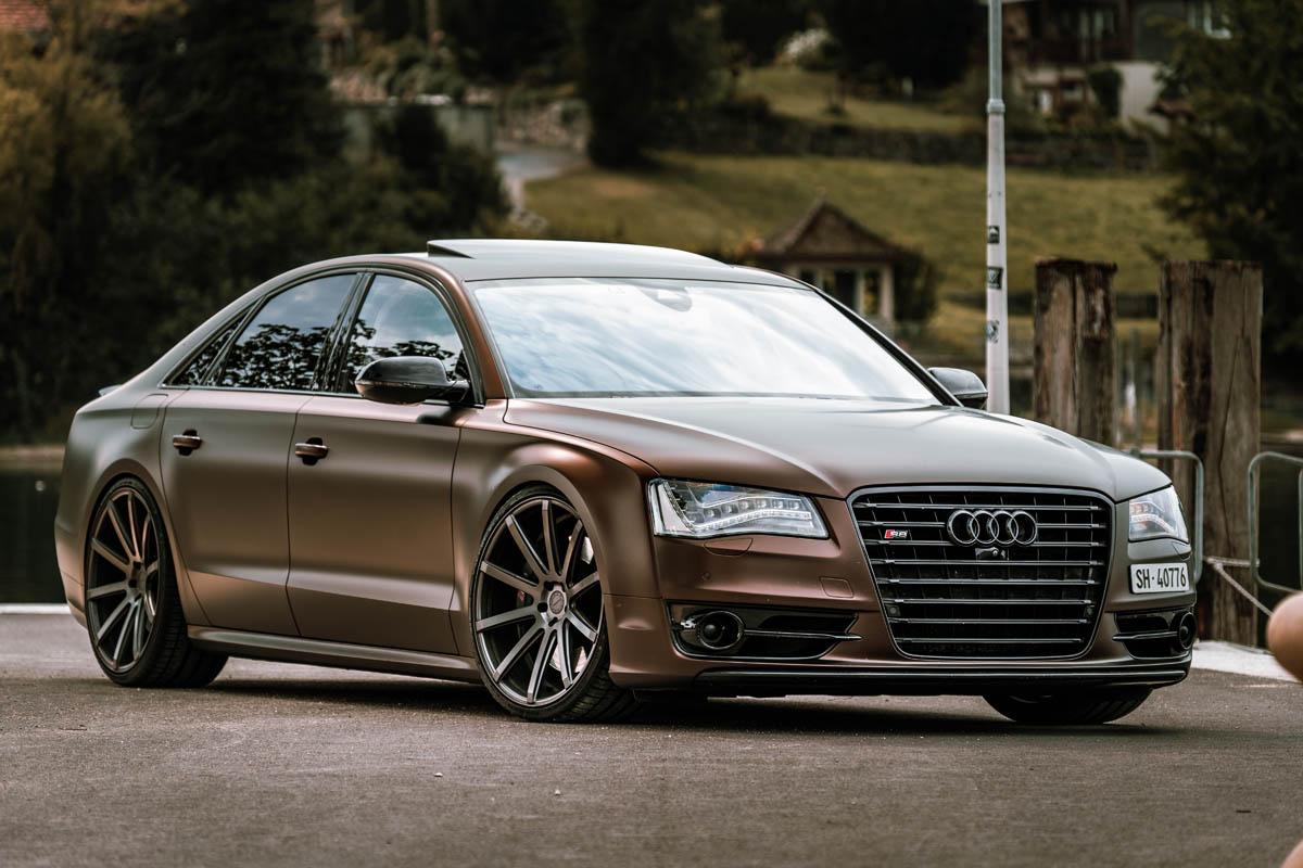 Aerotechnik puts Audi luxury sedan on Cor.Speed 22-inch wheels