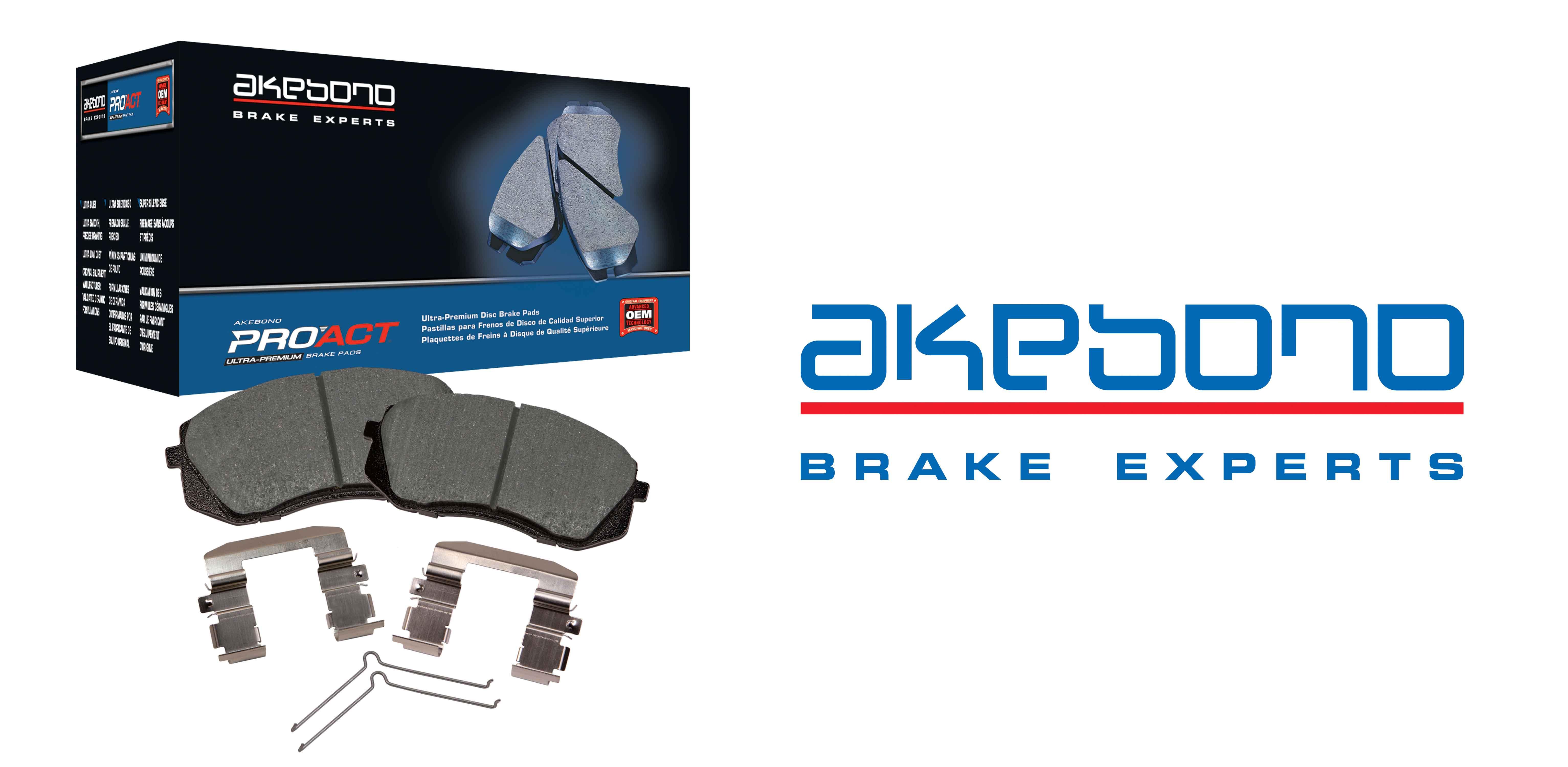 Akebono releases proact ultra-premium disc brake pad kit