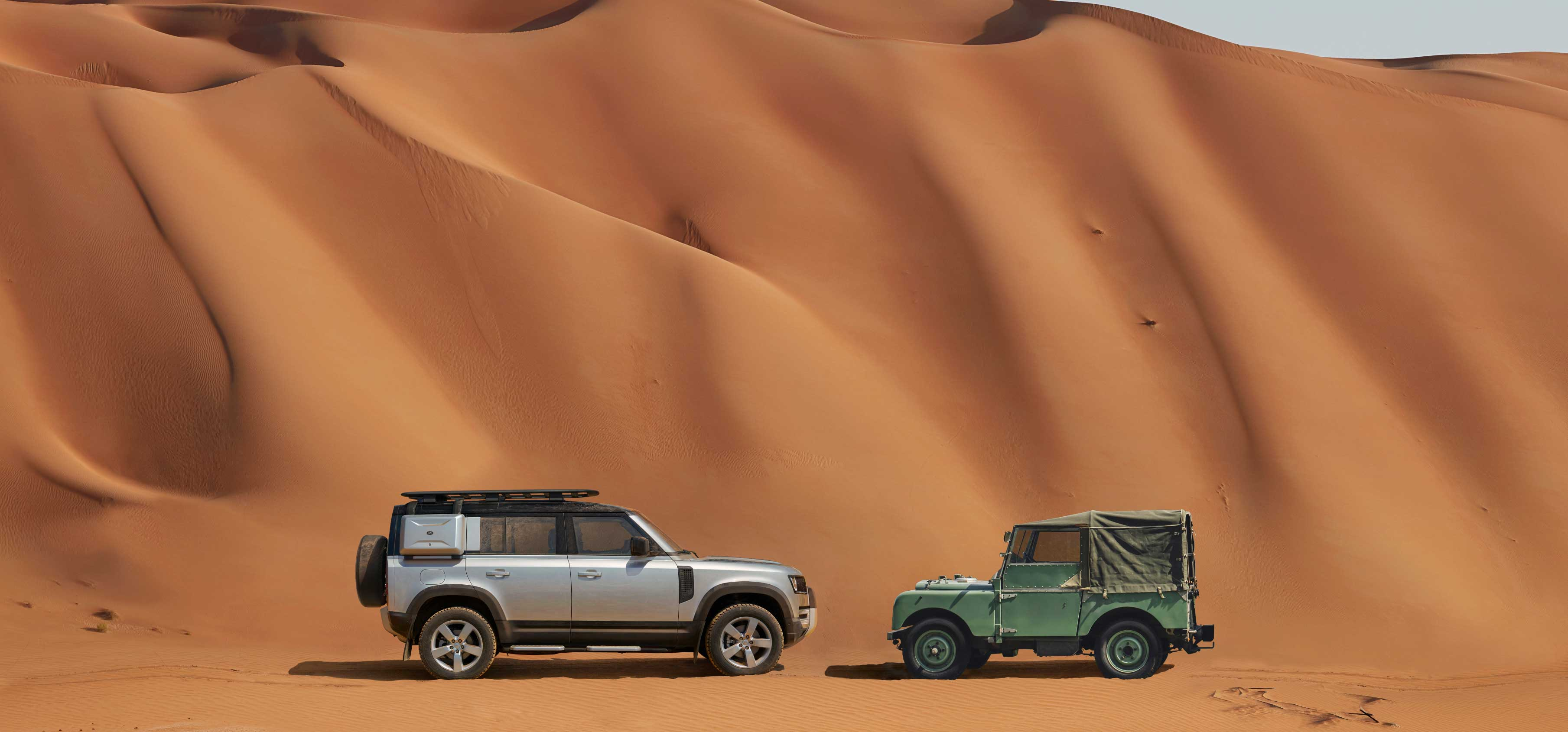 Select Al Tayer Motors and Premier Motors Land Rover showrooms to feature Defender only display