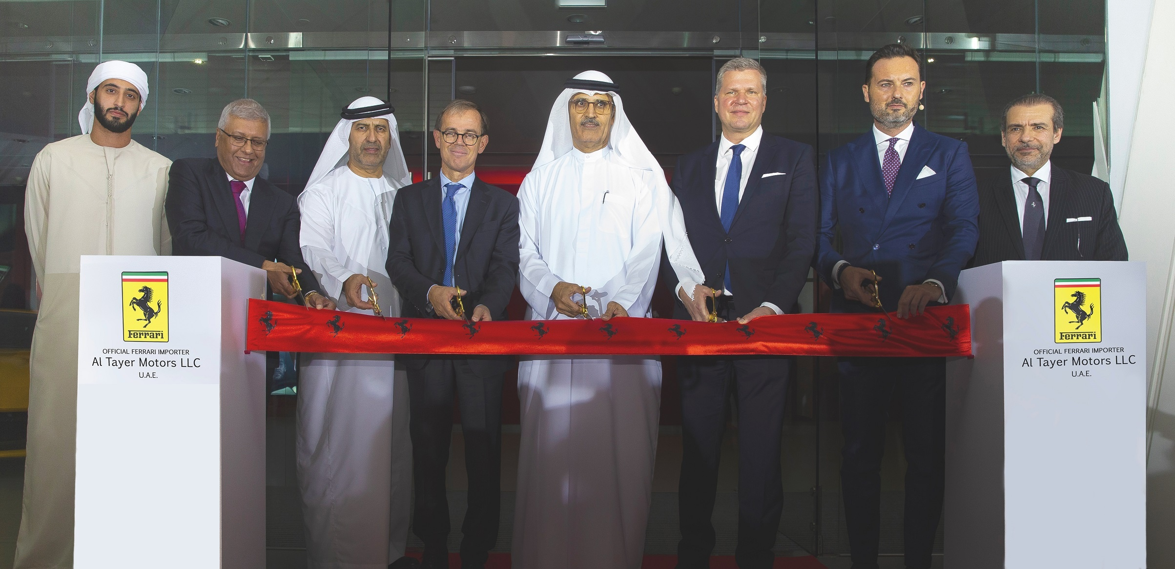 Al Tayer Motors Opens State-of-the-Art Ferrari Showroom in Dubai