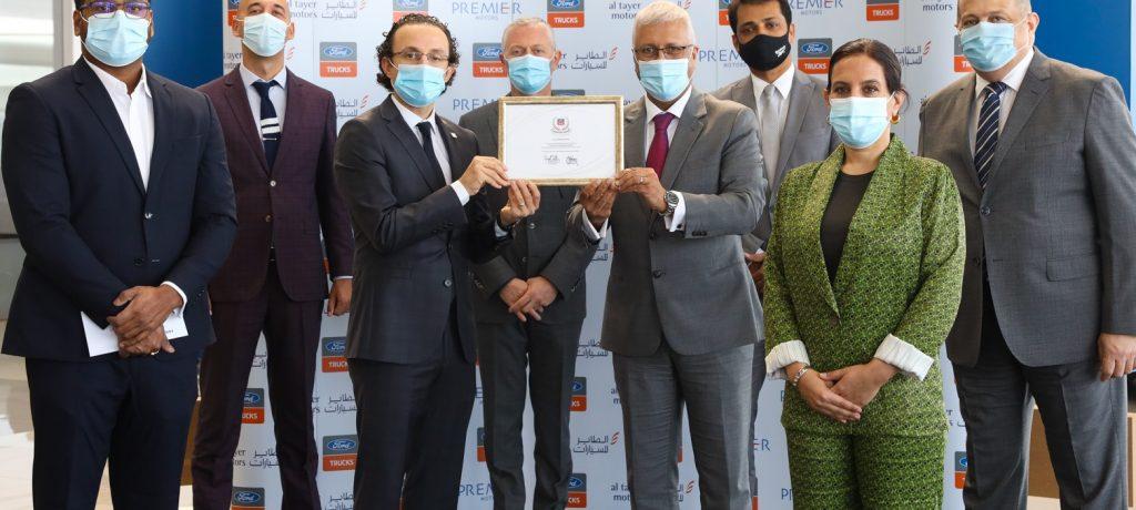 Al Tayer Motors Wins Ford Trucks' Champions Award 2019