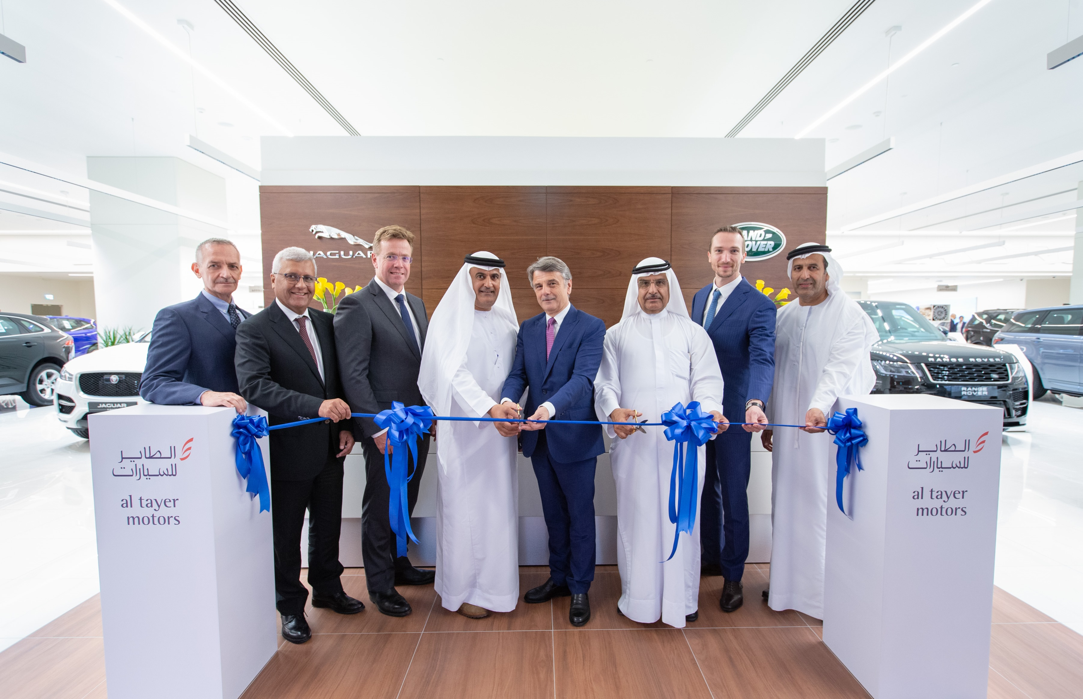 Jaguar Land Rover CEO Opens New Al Tayer Facility in Garhoud