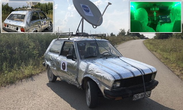 Owners Ad for Alien-Proof Car Goes Viral