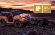All-New Ford Bronco Earns Prestigious iF Design Gold Award 2021