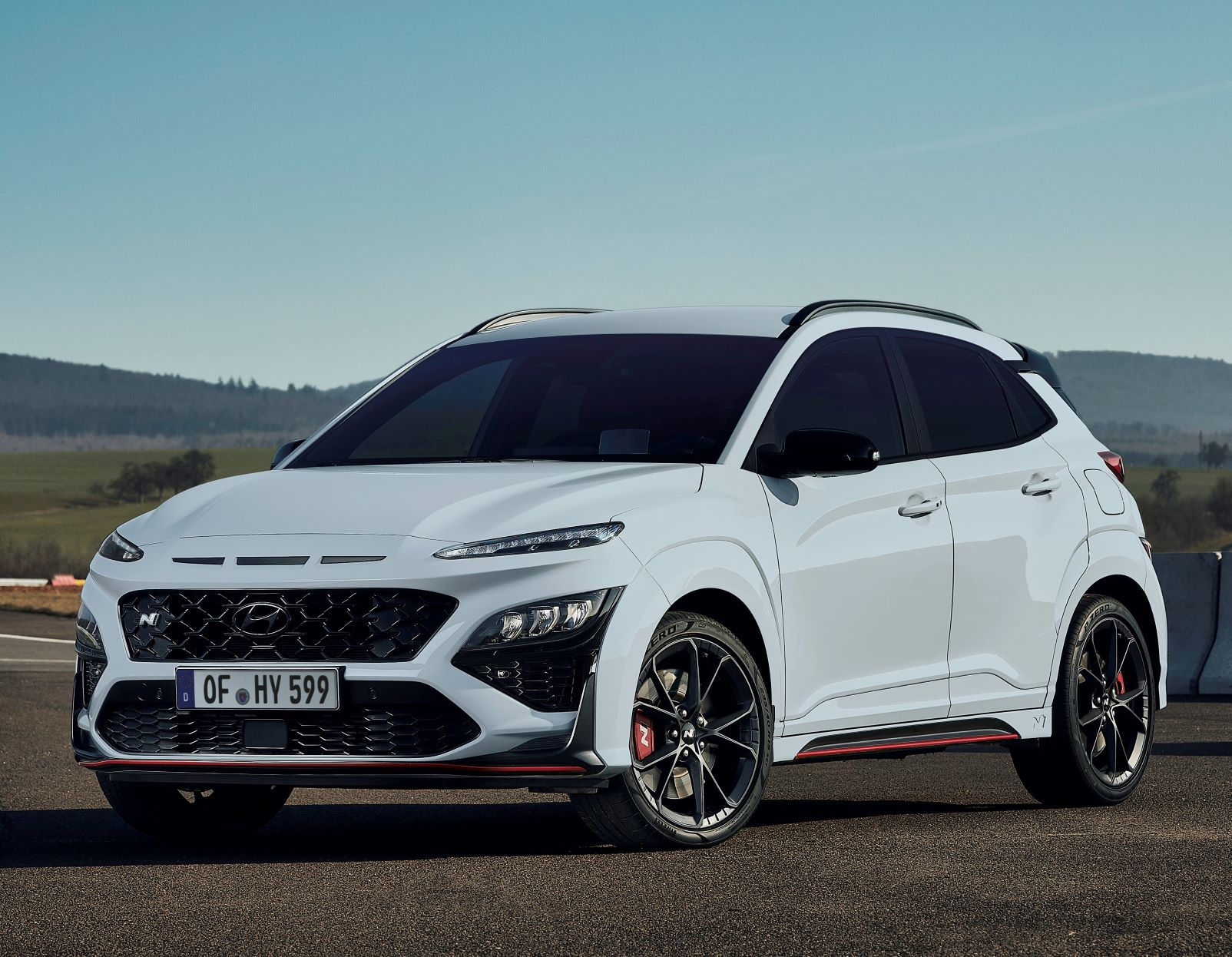 The New Pirelli P Zero Tyre For The All-New Hyundai Kona N