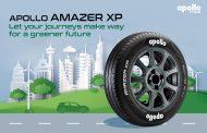 Apollo introduces future-ready Amazer XP tyres