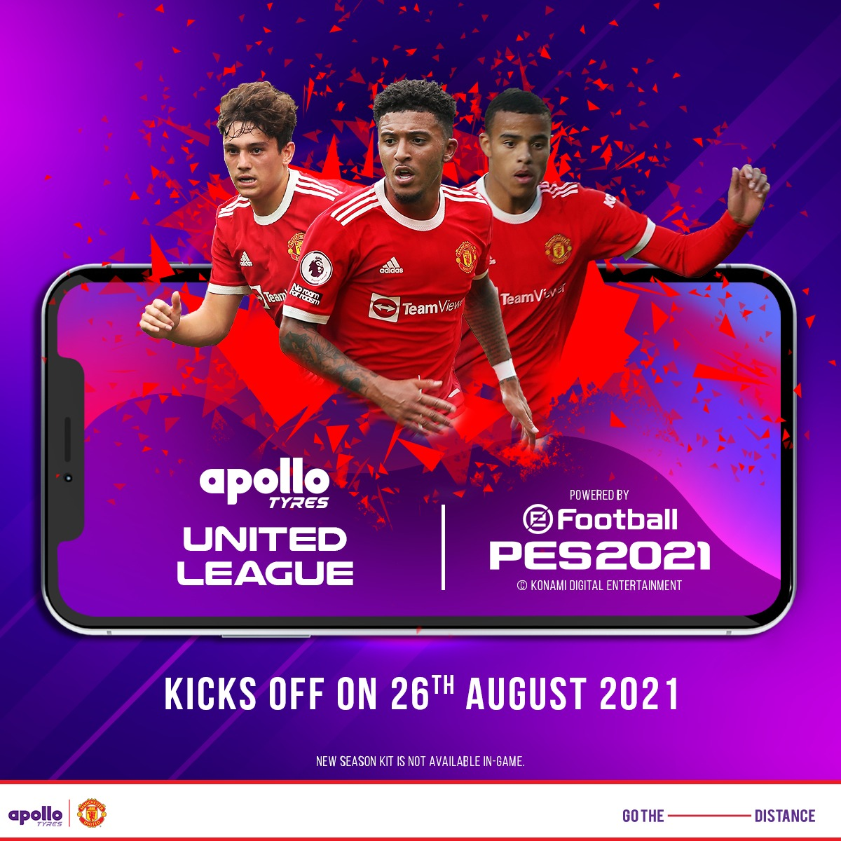 Apollo Tyres partners with KONAMI to launch eSports Tournament across multiple regions, in association with Manchester United