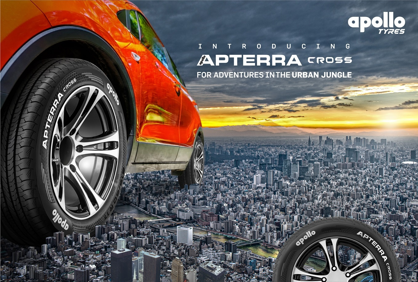 Apollo introduces Apterra Cross tyres