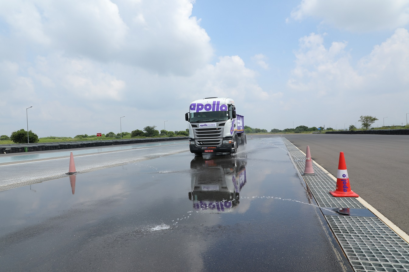 Apollo Tyres Ties up with GARC to Set up Unique Tire Test Track in India