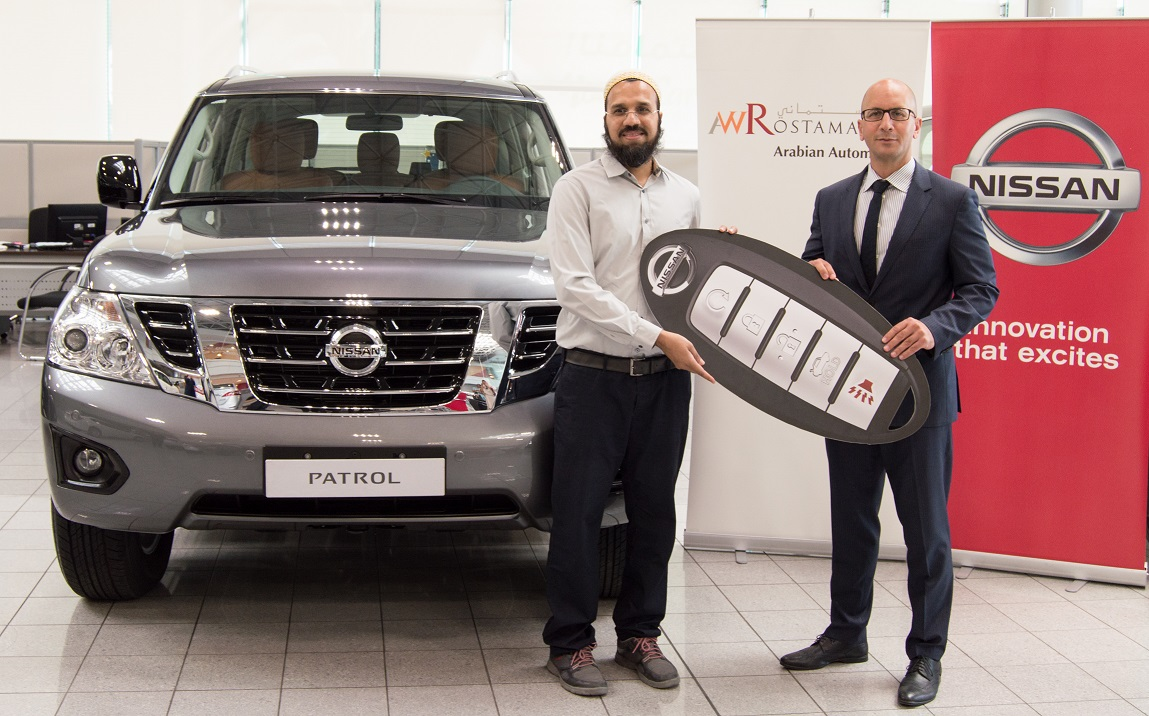 Arabian Automobiles Announces First Winner of '50th Anniversary Raffle'