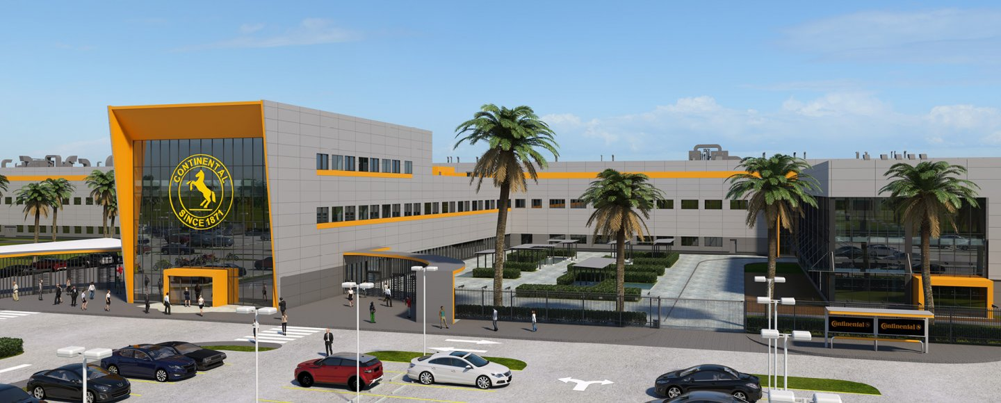 Continental Opens New Tire Plant in Thailand - Tires & Parts