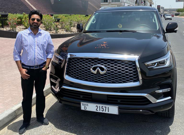 INFINITI announces the first successful bidder of its online auction platform under 'Eyes On You' road safety initiative