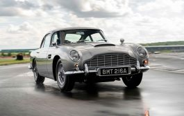 The first new DB5 in more than 50 years rolls off the line as inaugural Aston Martin DB5 Goldfinger Continuation car is completed