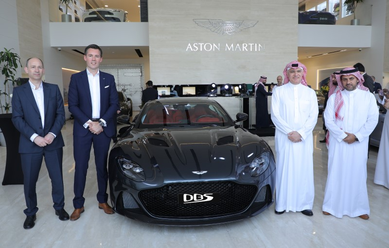 Aston Martin Opens News Showroom in Jeddah