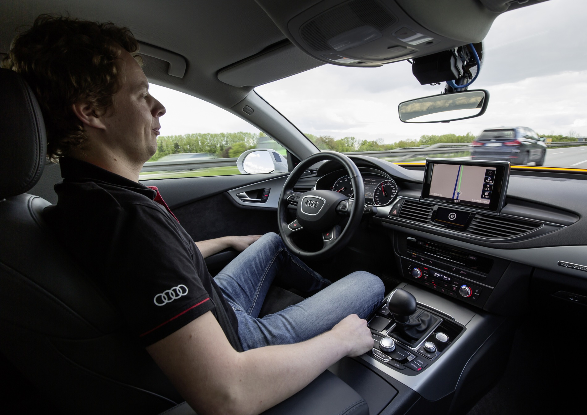 Audi Pioneers New Technologies for Piloted Driving