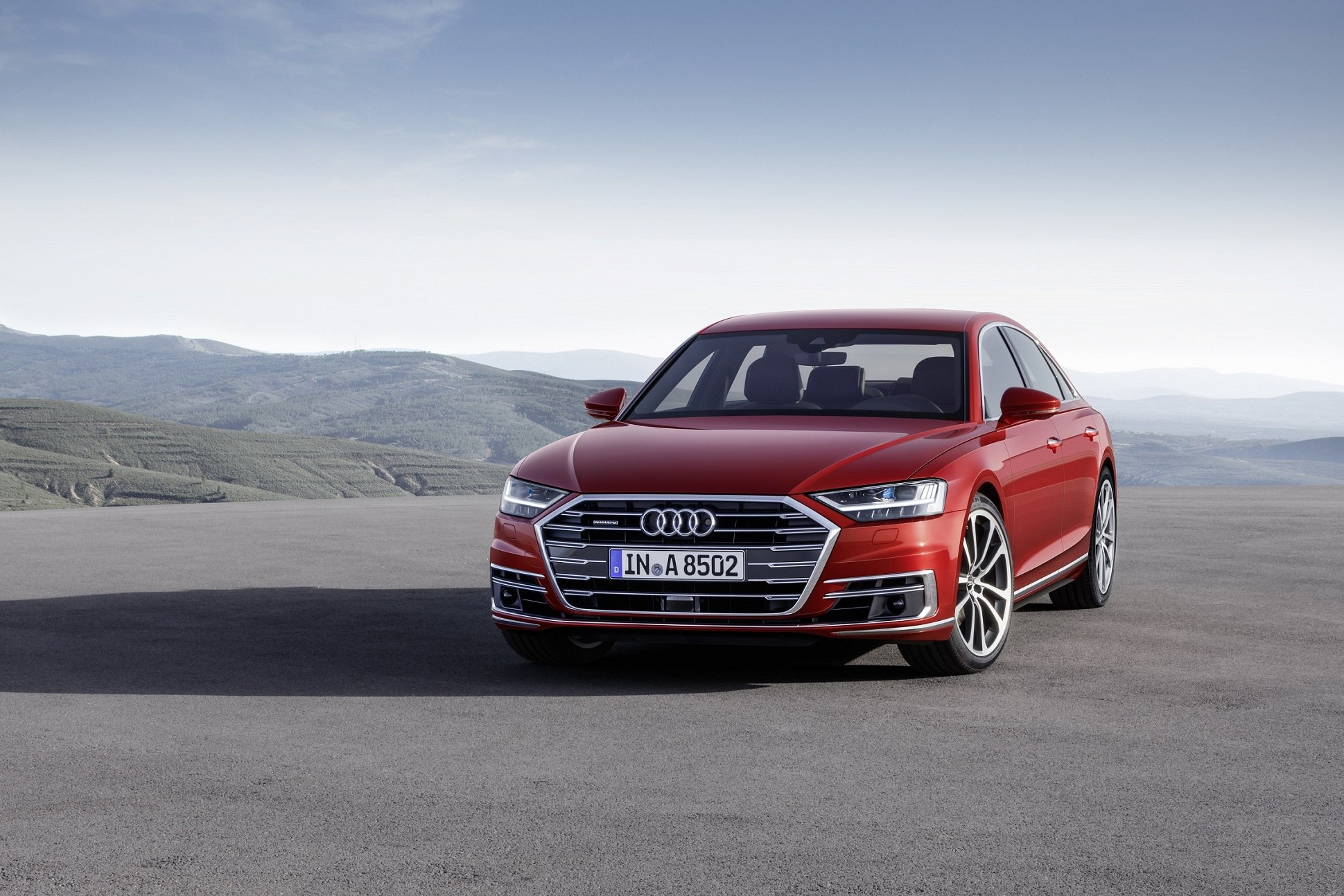 Audi Maintains Lead in Autonomous Driving with Launch of A8 at Future Mobility Forum