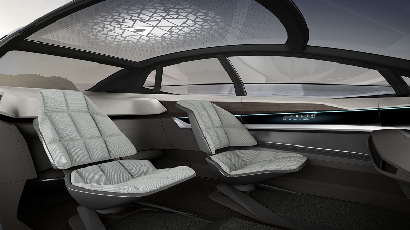 Audi Breaks into Autonomous Sector with Aicon concept car