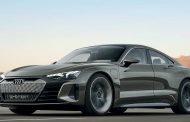 Audi Unveils E-tron GT Concept Car at LA Auto Show