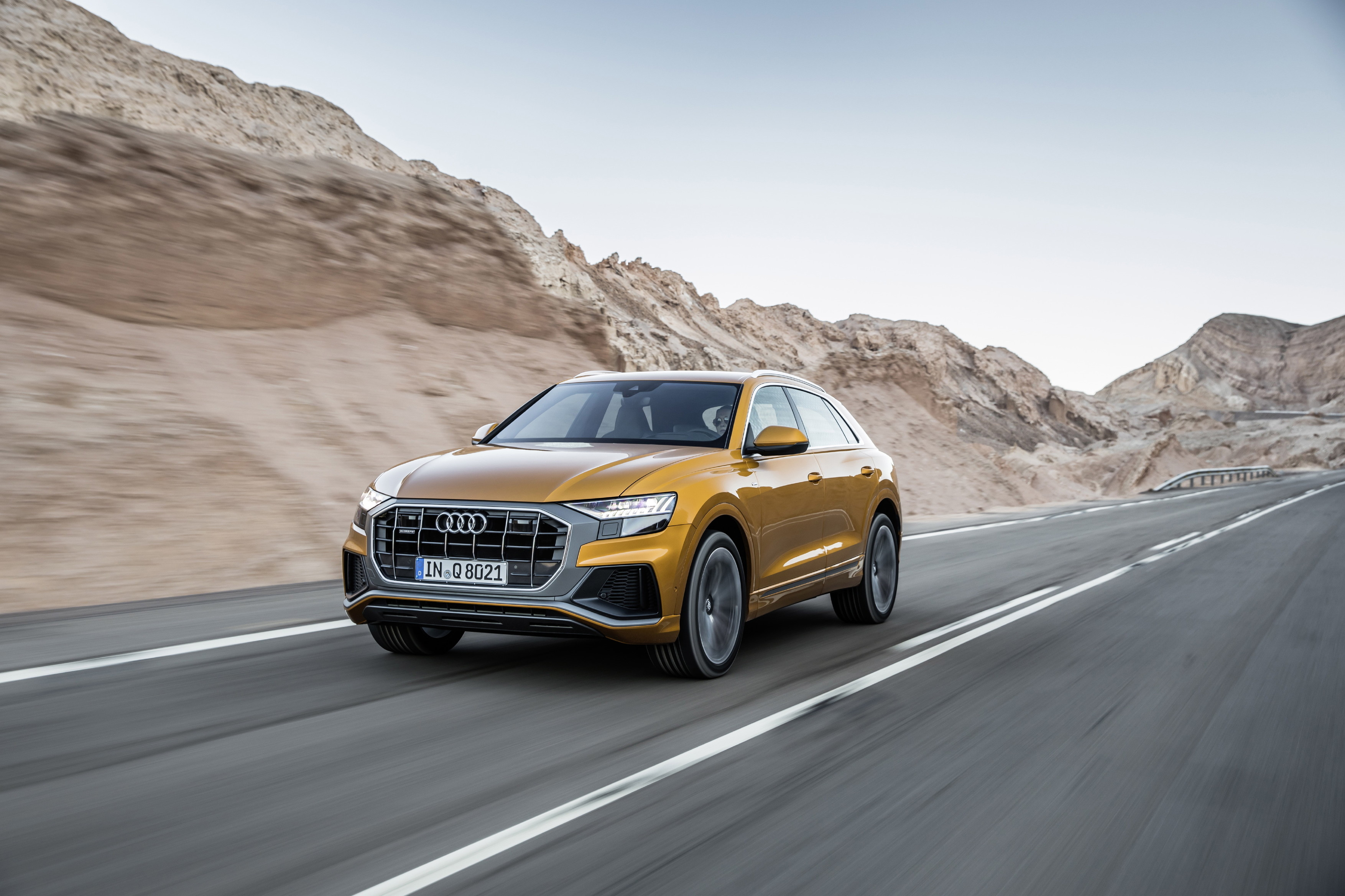 New Audi Q8 Now Available in the Middle East