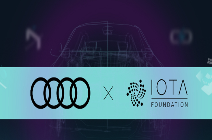 Audi Teams up with IOTA Foundation for Exploring Tangle-based Future Mobility