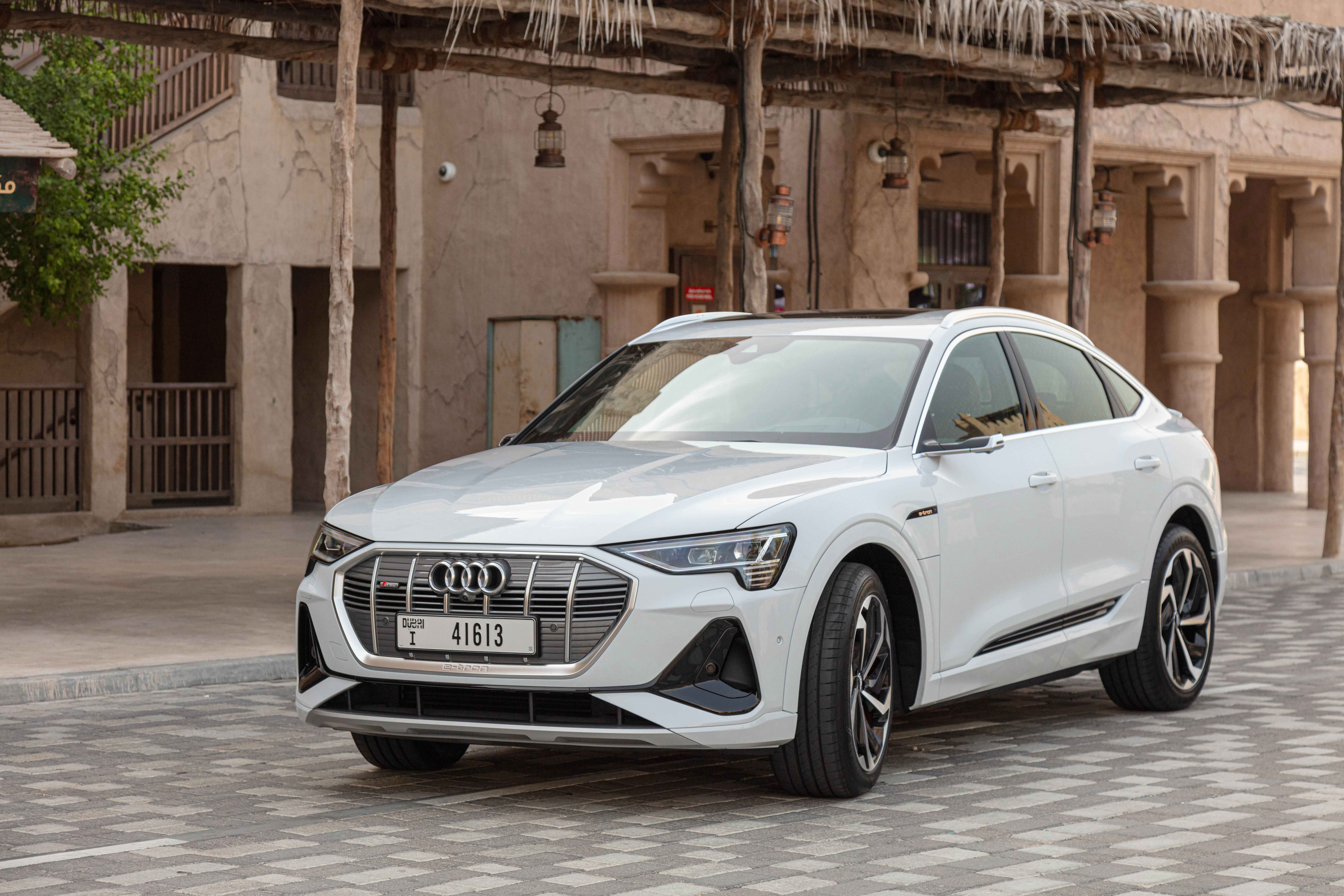 The e-tron Sportback hits the showroom floor in Dubai and Northern Emirates