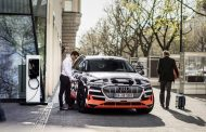 Audi Develops New Home Charging System