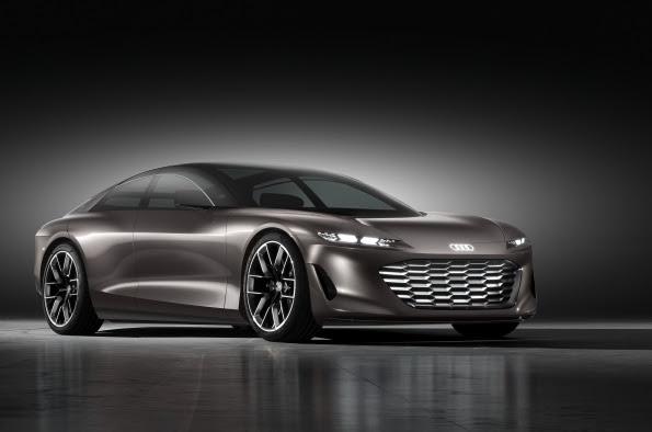 Audi grandsphere concept at IAA 2021