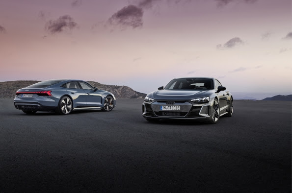 Introducing the 2022 Audi e-tron GT and RS e-tron GT