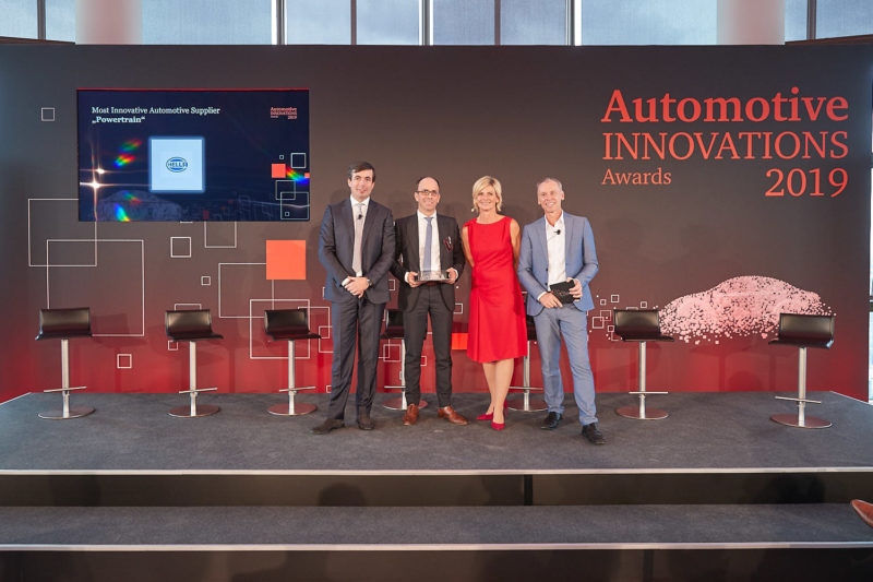 Hella Receives Innovation Award for Dual Voltage Battery Management System