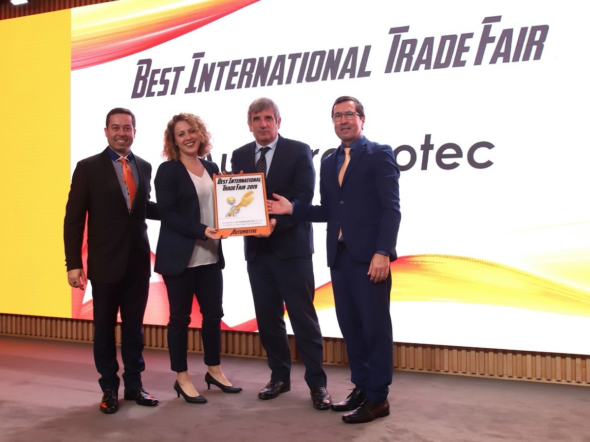 Autopromotec Wins 'Best International Fair' Award for 2019