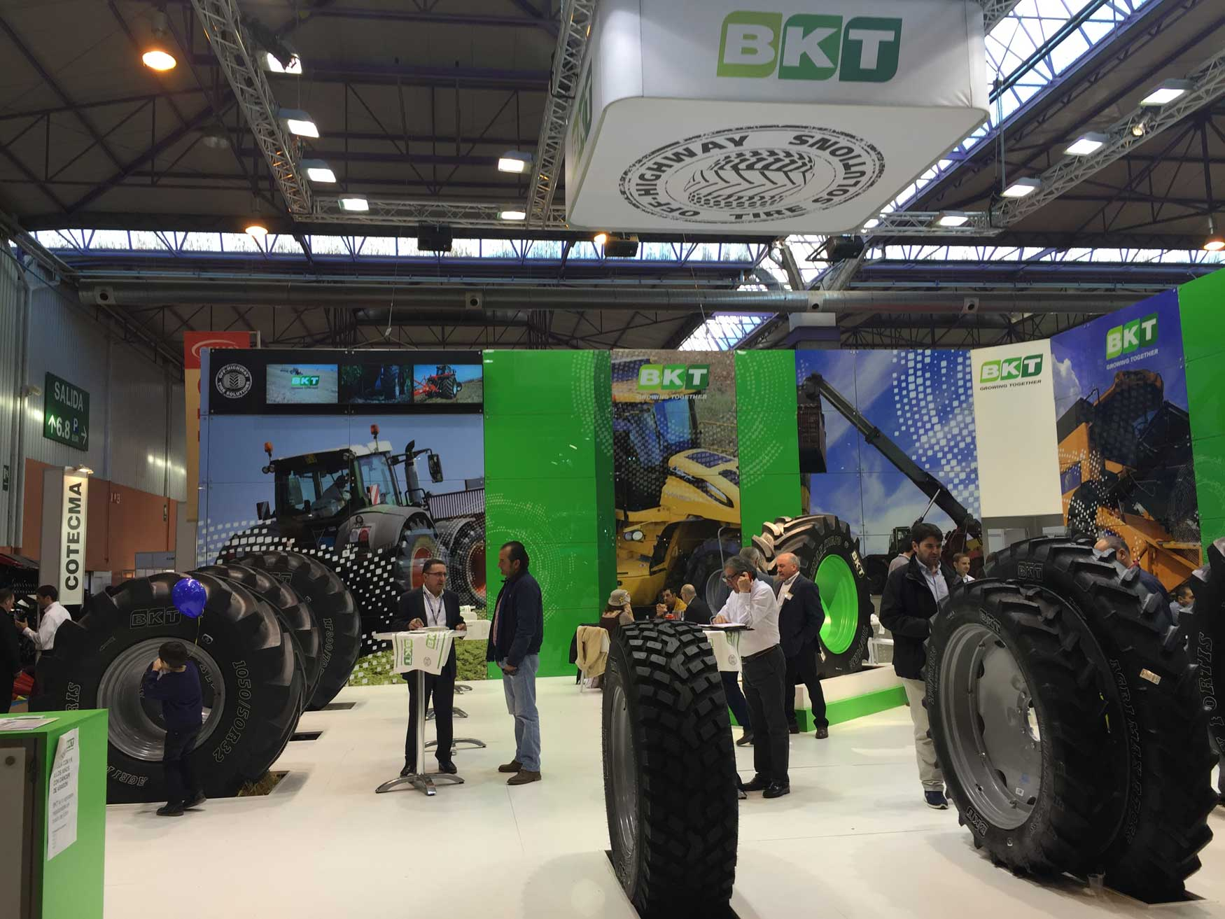 BKT Displays Wide Range of Agricultural Tires at FIMA 2018