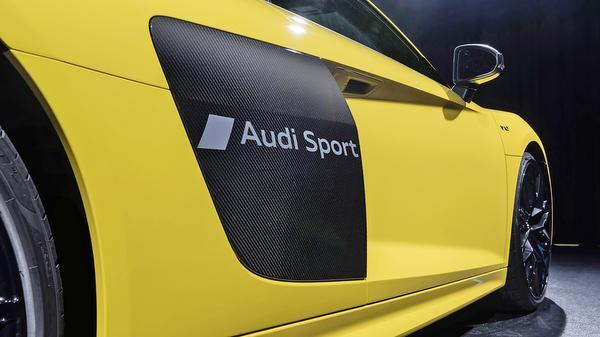 Audi Develops New Technology for Etching onto car paint