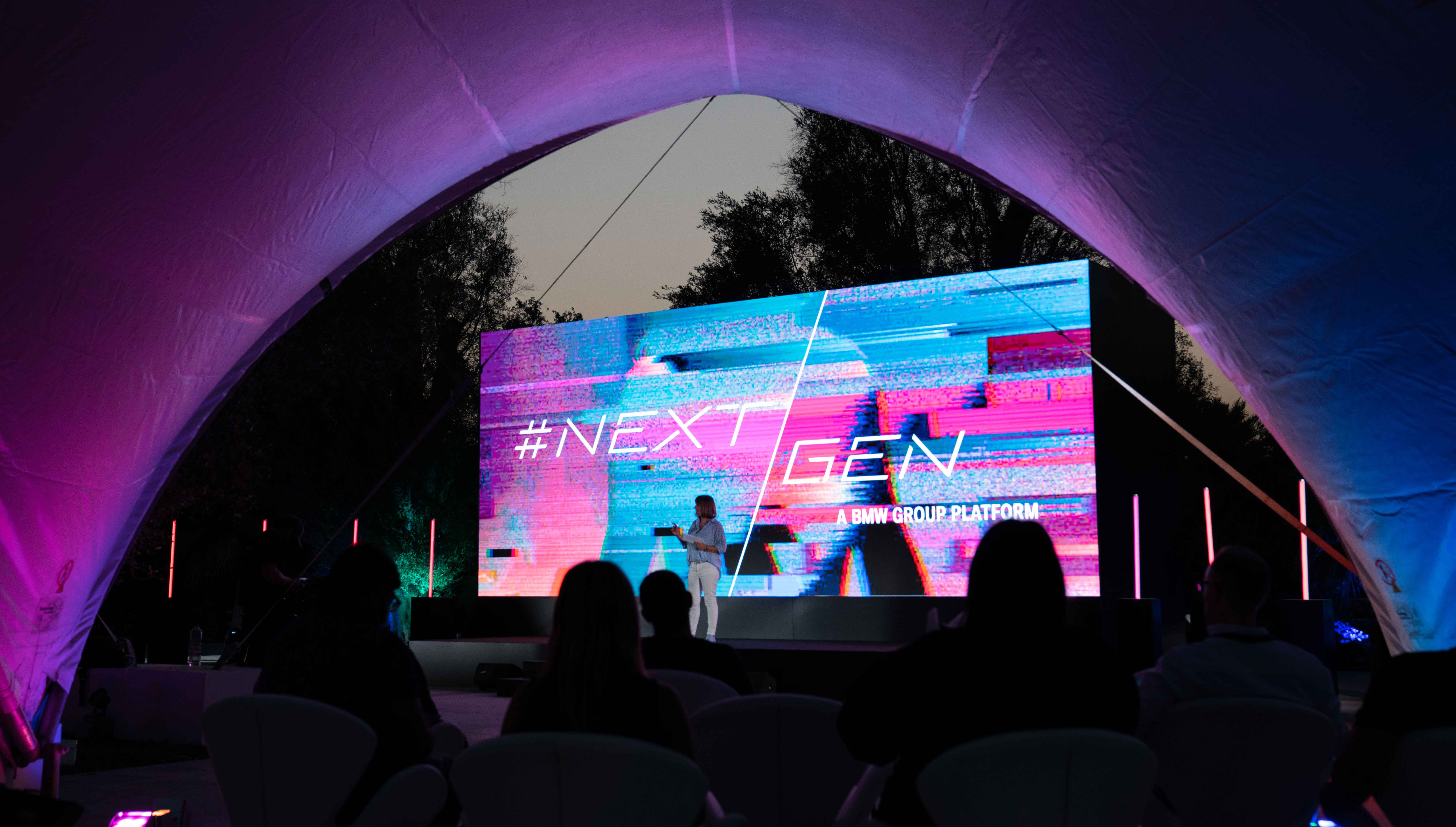 BMW Group Middle East makes #NEXTGen 2020 debut in the UAE