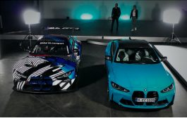 The BMW M4 meets the BMW M4 GT3. Video highlights the common ground between the BMW M4 Competition and the BMW M4 GT3 racing car.