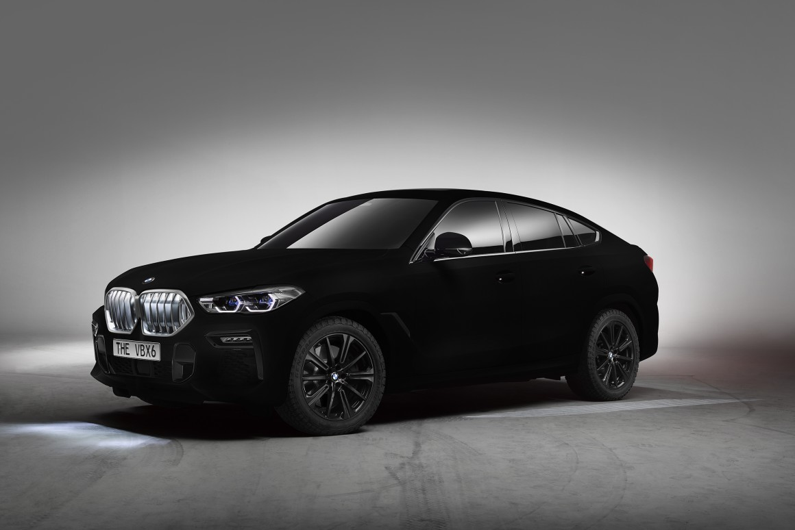 BMW Makes Blackest Car Ever