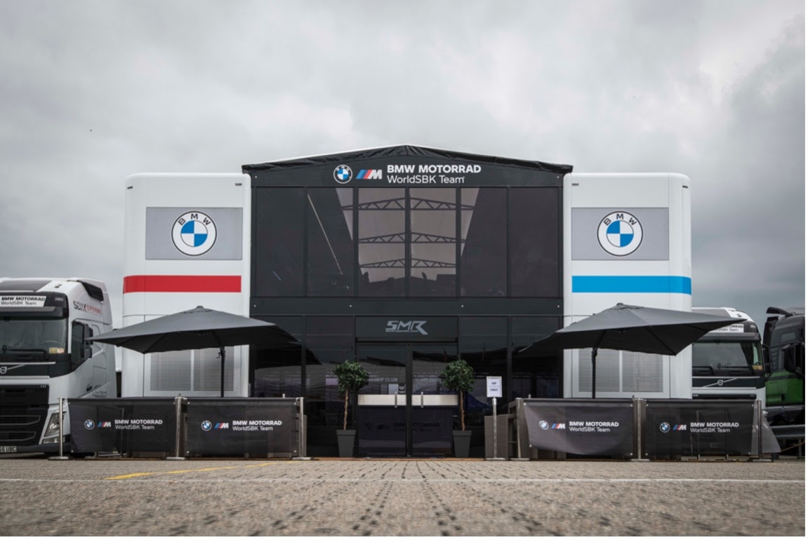 New home for the BMW Motorrad Motorsport family in the WorldSBK paddock