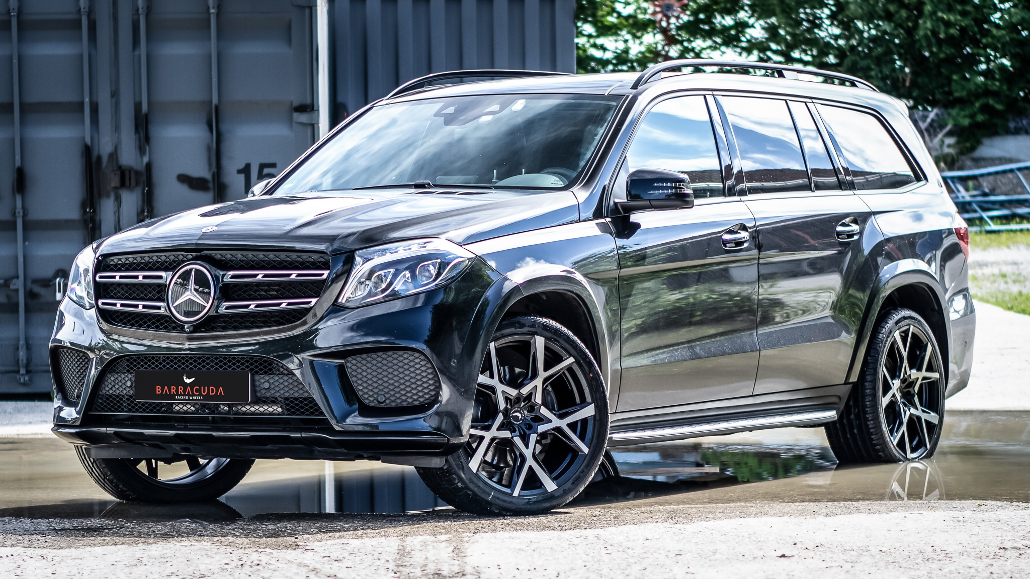 Barracuda meets HS Motorsport – Project X on the lowered Mercedes GLS