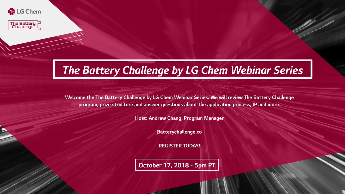 LG Chem Runs Innovation Contest to Support Startups with New Battery Technologies