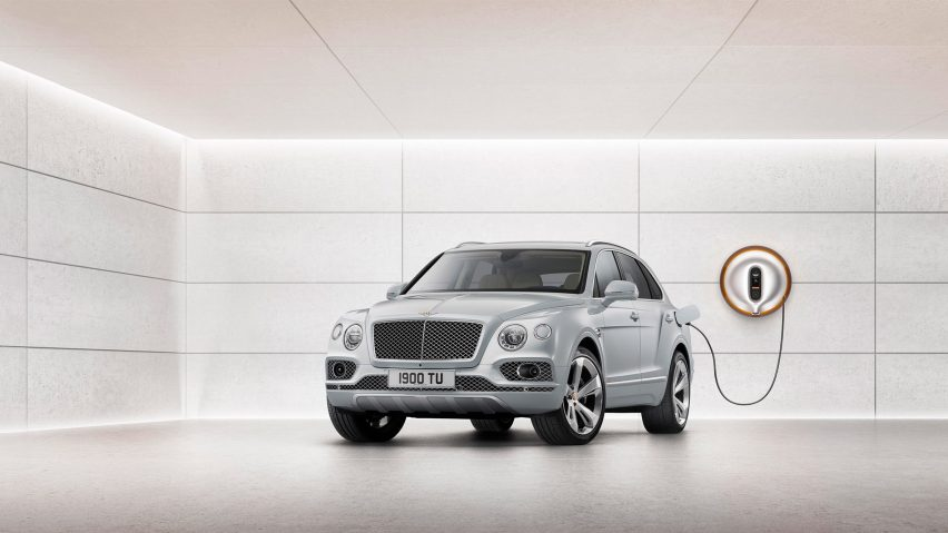 Bentley Unveils Futuristic Power Dock for the Hybrid Bentayga