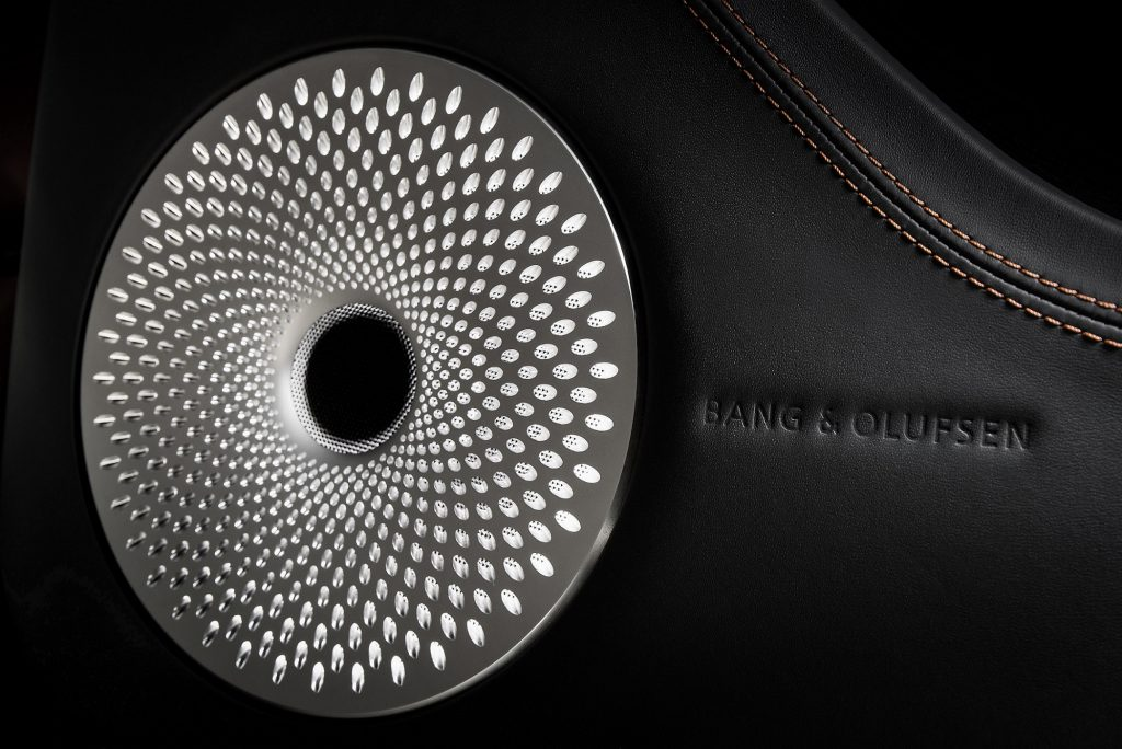 Bentley Teams up with B&O for Automotive Audio-first Experience