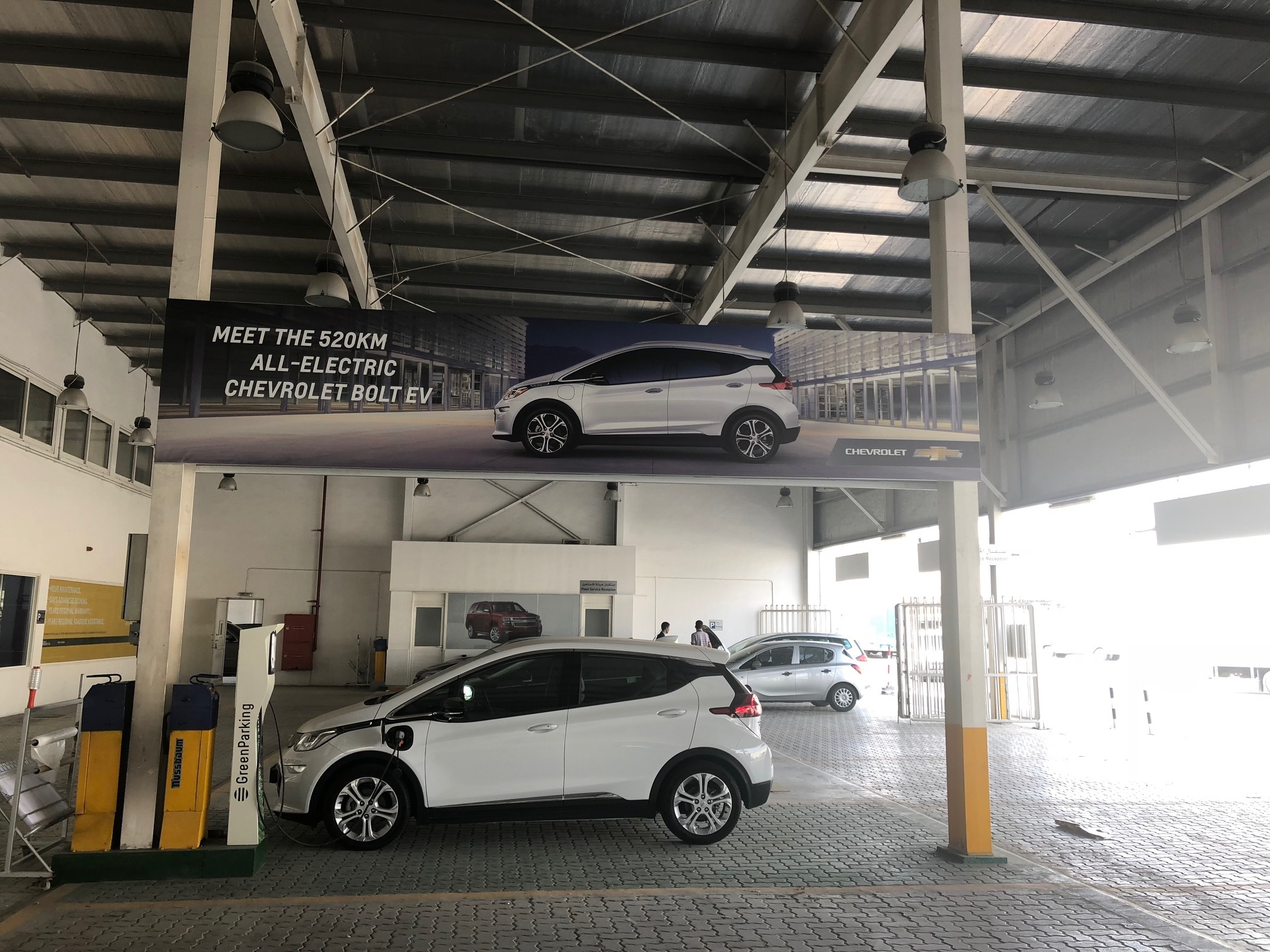 Liberty Automobiles Becomes First Dealer in the UAE to Install Bolt EV Charging facility