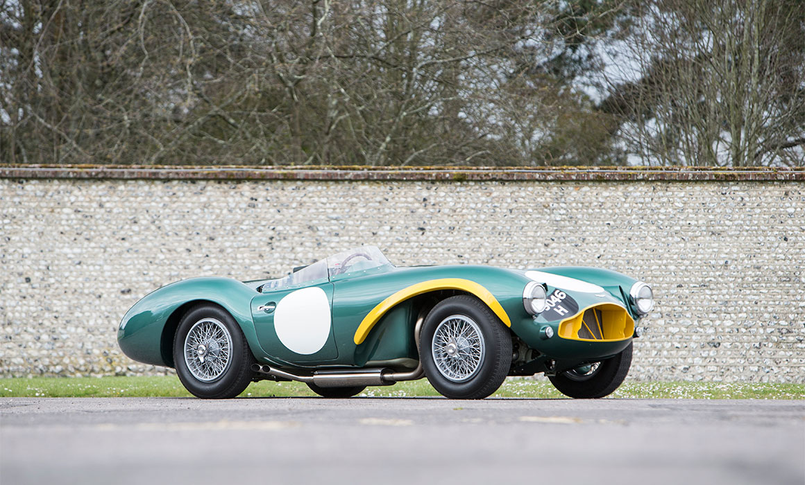 Aston Martin Sale Raises Over GBP 5 Million