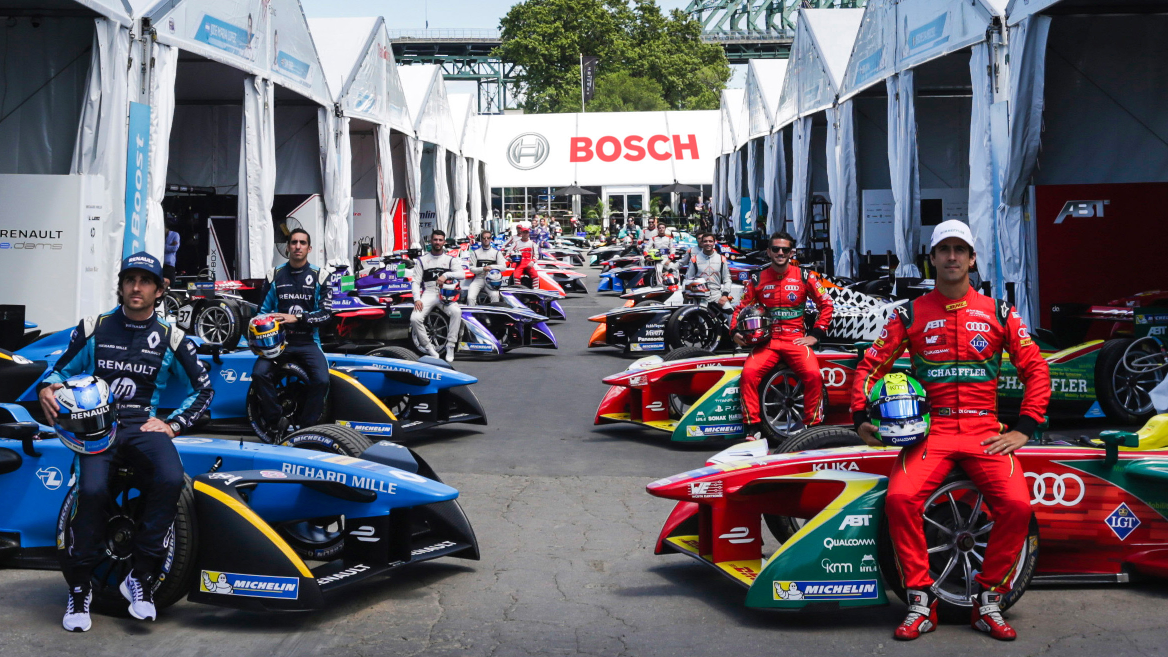Bosch Becomes Official Latest Formula E Partner