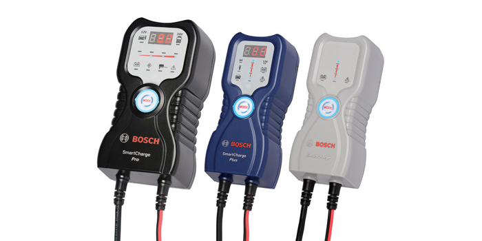Bosch Debuts New Range of SmartCharge Battery Chargers/Maintainers