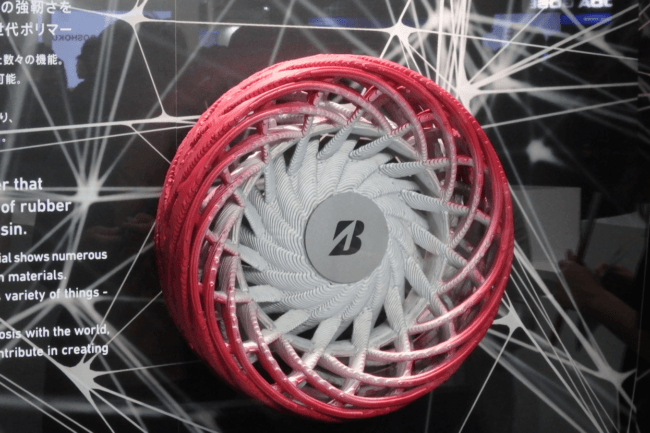 Bridgestone Develops New High Strength Rubber Polymer